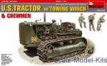 MA35225 U.S.Tractor w/Towing Winch & Crewmen.Special Edition