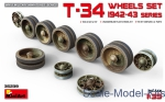 MA35239 T-34 Wheels set, 1942-43 series