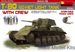 MA35243 Soviet light tank T-80 with crew. Special Edition