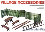 MA35539 Village accessories (made of Plastic)