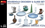 MA35559 Household crockery ang glass set