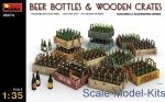 MA35574 Beer bottles and wooden сrates