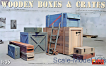 MA35581 Wooden Boxes & Crates