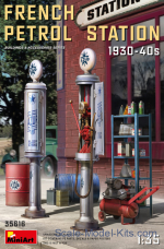 French Petrol Station (1930-40s)