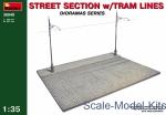 Street section w/Tram Line