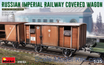 Russian Imperial Railway Covered Wagon