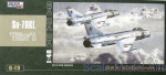 "Bombers: Sukhoi Su-7BKL ""Fitter A"" fighter-bomber, Mister Craft, Scale 1:48"