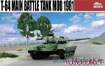 MC-UA72014 T-64 Main Battle Tank Mod 1981