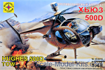 MST204819 Helicopter Hughes 500D