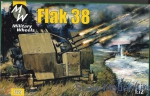 MW7224 Flak 38 German anti-aircraft gun