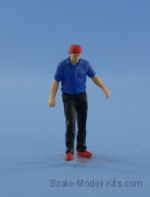 NS-F-43016-p Resin figure of mechanic (driver), type 3