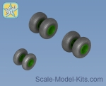 NS72163-a Wheels set for MiL Mi-26  - No mask series