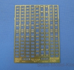 NSA350021 Photo-etched set 1/350 doors for USS ships, set 1