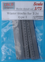 OKB-S72089 Winter tracks for T-34, type 1