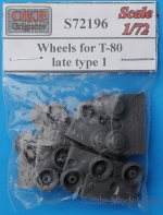OKB-S72196 Wheels for T-80, late, type 1
