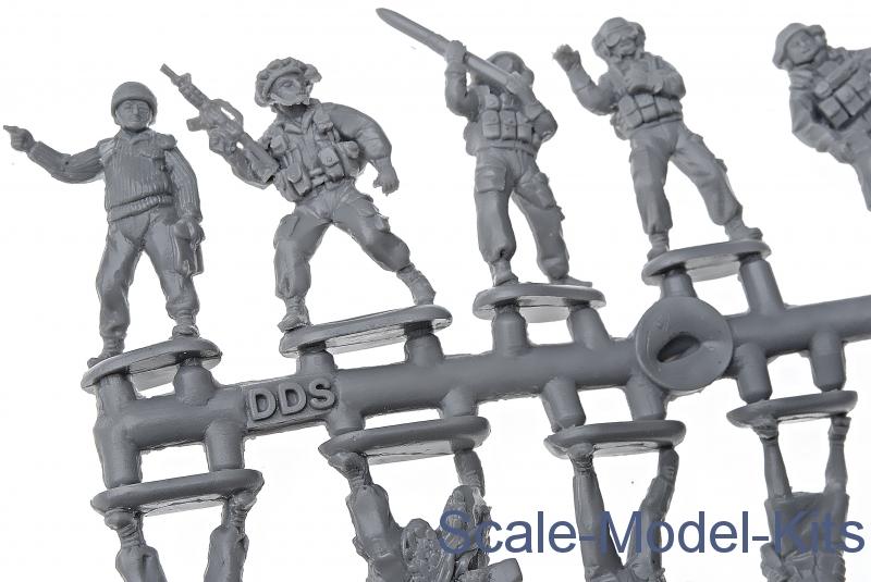 Orion Models 1//72 MODERN ISRAEL ARMY Set 2 Figure Set