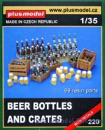 PLUSM2200 Beery bottle and boxes (99 resin pcs. decals)
