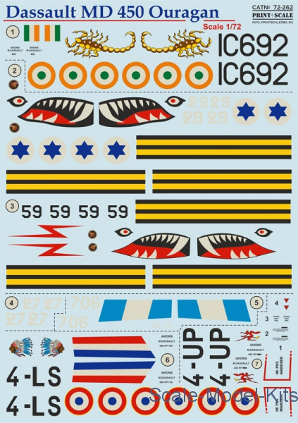 Decal for Dassault MD 450