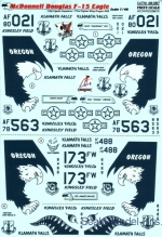 Decals / Mask: Decal for McDonnell Douglas F-15 Eagle, Print Scale, Scale 1:48