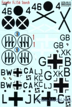 PRS48-101 Decal for Fieseler Fi.156