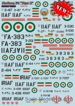 PRS48-114 Decal for Northrop F5