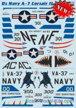 PRS48-127 Decal for US Navy A-7 Corsair ll, part 2
