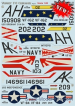 PRS48-139 Decal for Vought F-8 Crusader, part 1