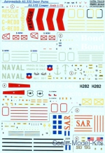 PRS72-218 Decal for AS.332 Super Puma, AS.532 Cougar