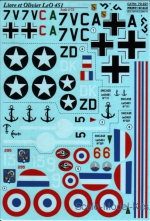 Decal for Liore et Olivier LeO 451