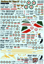 PRS72-229 Decal for Northrop F-5 Tiger II