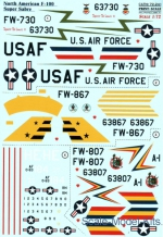 PRS72-241 Decal for F-100