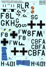 PRS72-250 Decal for Focke-Wulf Fw 200