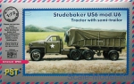 PST72062 Studebaker US6 mod.U6 truck with semi-trailer