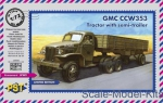 PST72064 GMC CCW 353 Australian tractor with semitrailer
