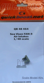 QBT48464 Sea Vixen FAW.9 air intakes