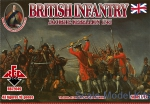 RB72049 1/72 Red Box 72049 - British Infantry 1745. Jacobite Rebellion