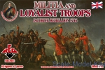 RB72051 1/72 Red Box 72051 - Militia and Loyalist Troops 1745. Jacobite Rebellion