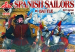 RB72103 Spanish Sailors in battle, 16-17 century, set 2