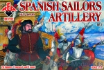 RB72104 Spanish Sailors Artillery 16-17 century, set 3