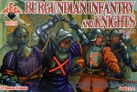 RB72110 Burgundian infantry and knights 15 century, set 2