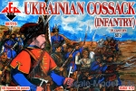 RB72115 Ukrainian cossack infantry. 16 century, set 2