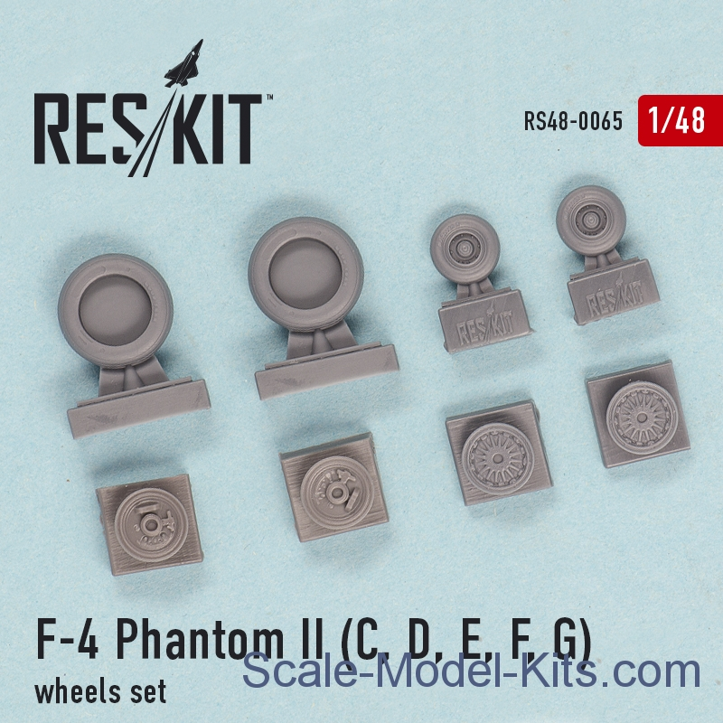 "Wheels set for F-4C/D/E/F ""Phantom II"""