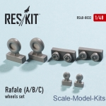 RS48-0032 Wheels set for Rafale (A/B/C) (1/48)