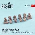 RS48-0039 Wheels set for EH-101 Merlin HC.3