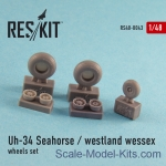 RS48-0043 Wheels set for Uh-34 Seahorse / Westland Wessex(all versions)