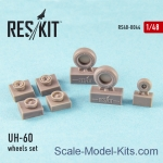 RS48-0044 Wheels set for UH-60 (all versions)