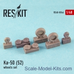RS48-0046 Wheels set for Ka-50/52 (all versions)