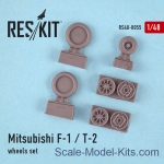 RS48-0055 Wheels set for Mitsubishi F-1/T-2