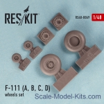 RS48-0069 Wheels set for F-111 (A, B, C, D)
