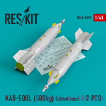 RS48-0099 Guided bomb KAB-500L (500kg) (2 pcs) for (Su-24/30/34, MiG-27, MiG-29SMT, YAK-130)